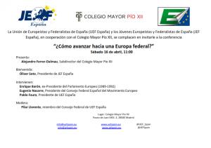 UEF España_Conferencia