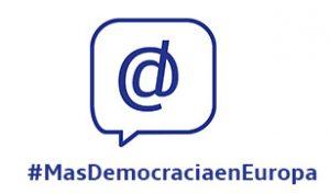 Más democracia en Europa